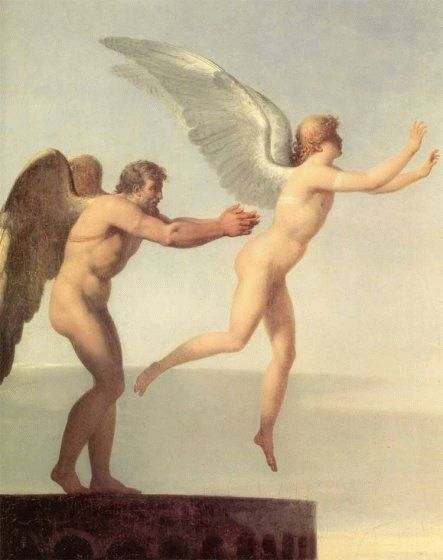 Icarus and Daedulus